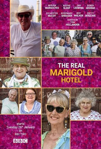 The Real Marigold Hotel Poster