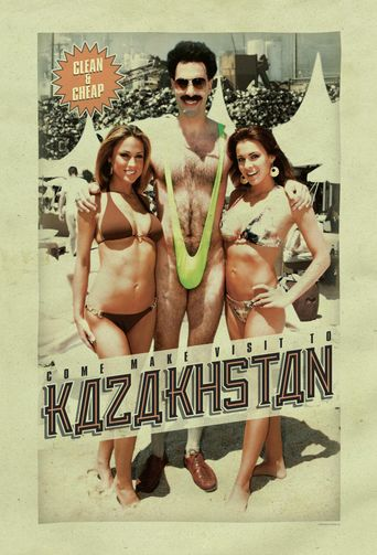 Borat's Television Programme Poster