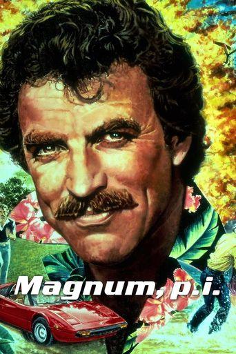 Magnum P.I Poster